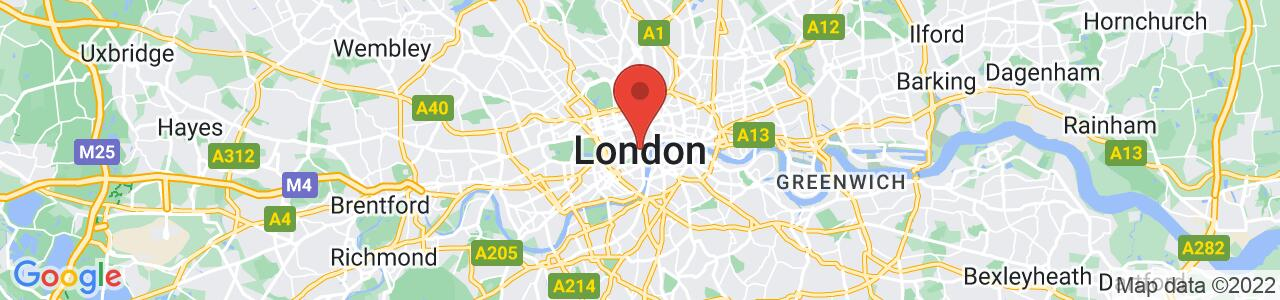 Event location of NOAH18 London
